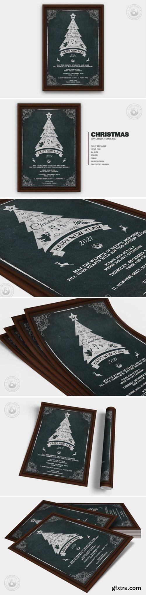 Christmas Invitation Template V5 6916132