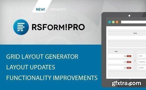 RSJoomla - RSForm!Pro v2.3.20 - Joomla Form Builder and Manager