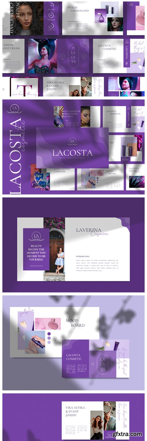 LACOSTA - Cosmetic Keynote Template 6717620