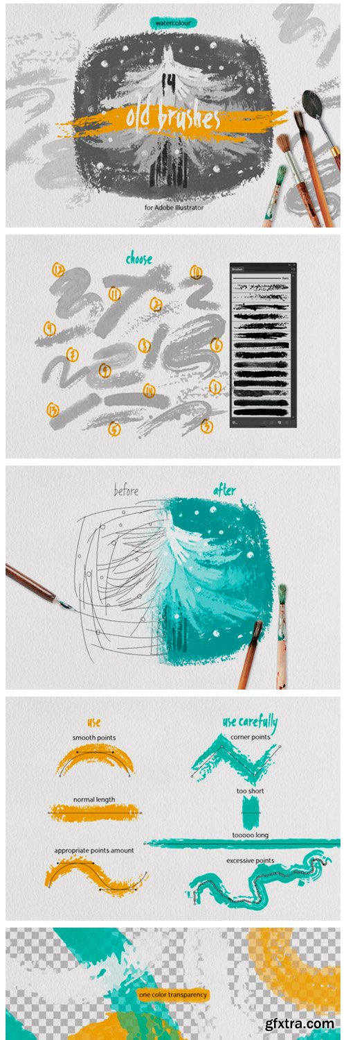 Old Brushes for Illustrator 6797623