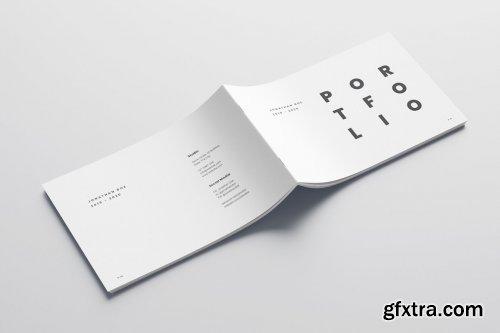 CreativeMarket - Minimal A5 Portfolio 4894648