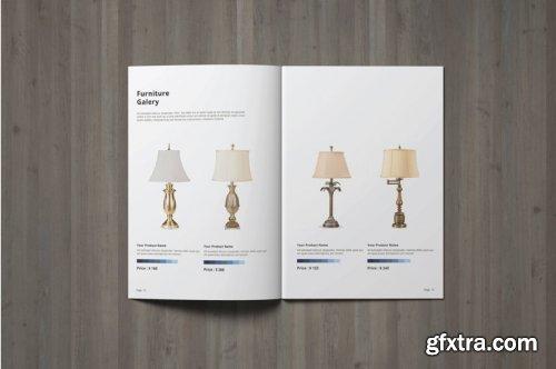 CreativeMarket - A5 Multipurpose Product Catalogue 4110201