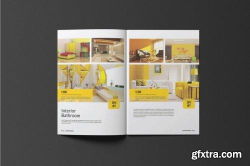 CreativeMarket - A5 Catalogue / Brochure 4230570