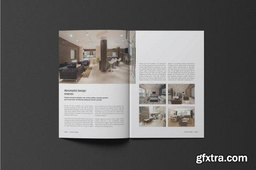 CreativeMarket - A5 Interior Catalogue 4435579