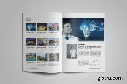 CreativeMarket - A5 Real Estate Catalogue / Brochure 4895726