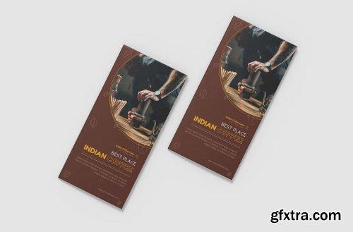 Coffee BaristaTrifold Brochure