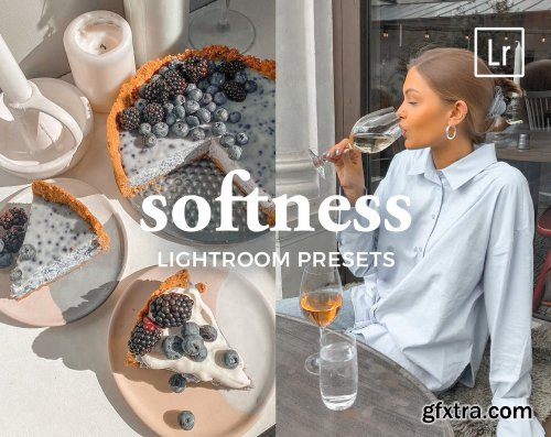 CreativeMarket - 4 Lightroom Presets SOFTNESS 5447284