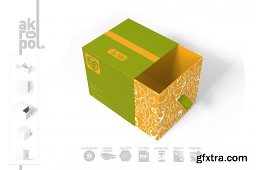 CreativeMarket - Box Mock-up 4858979