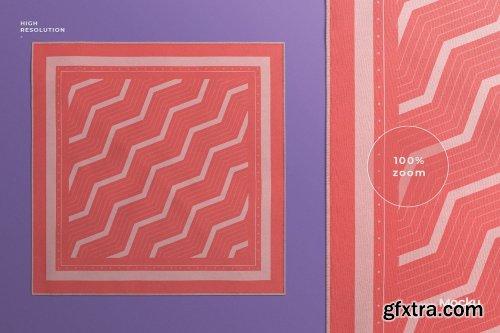 CreativeMarket - Silk Scarf Mockup 5592553