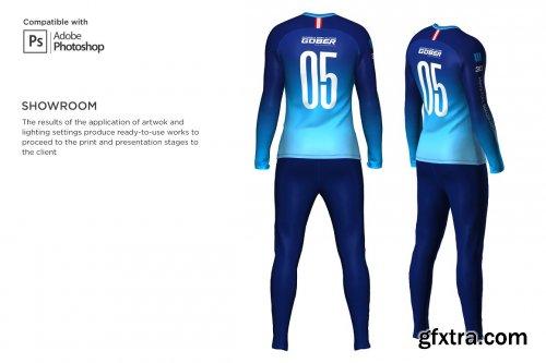 CreativeMarket - 3D Men's Soccer Goalkeeper Kit psd 5567402
