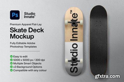 CreativeMarket - Skate Deck - Mockup 5498774