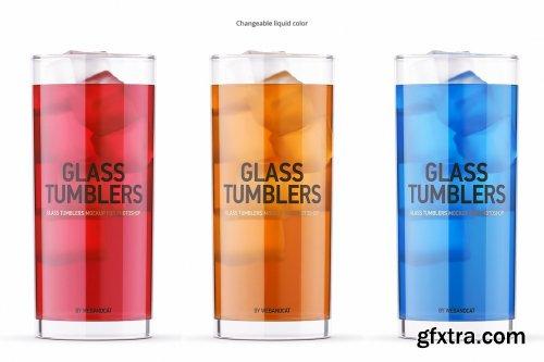 CreativeMarket - Clear Glass and Box Mockup 5525922