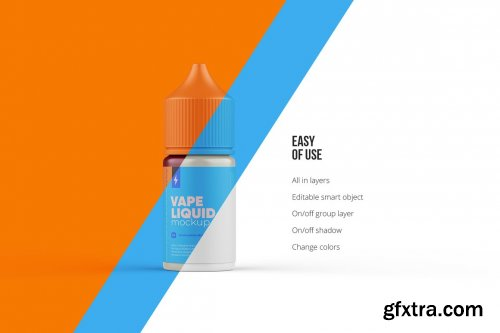 CreativeMarket - Vape Dropper Bottle Mockup 30ml 5639405