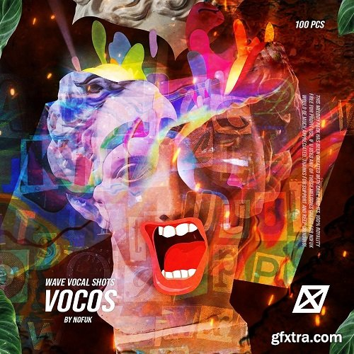 nofuk VOCOS Vocal one shots (100 pcs) WAV