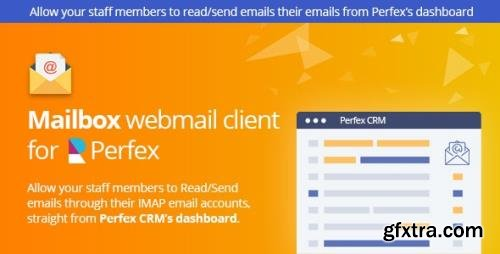 CodeCanyon - Mailbox 1.0l - Webmail based e-mail client module for Perfex CRM - 25308081