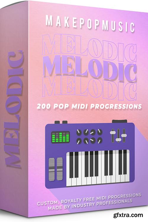 Make Pop Music Melodic MIDI Progressions MIDI-DECiBEL