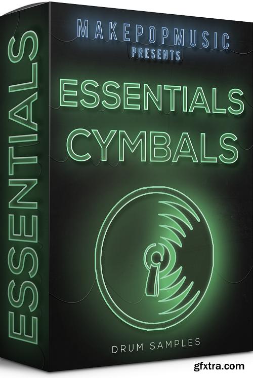 Make Pop Music Essentials Cymbals WAV-DECiBEL