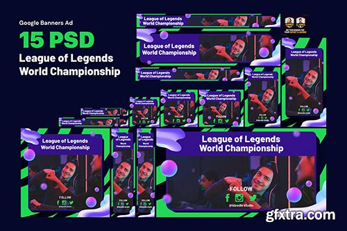 eSport Banners Ad