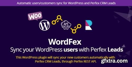 CodeCanyon - WordFex v1.0 - Syncronize WordPress with Perfex (Update: 9 January 20) - 25421122