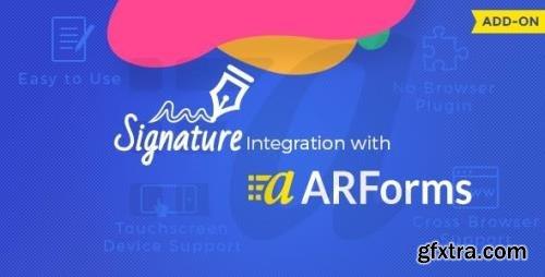 CodeCanyon - Signature Addon for Arforms v2.1 - 11038990