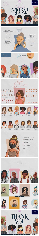 Female Portrait Creator - PS Edition 6953076