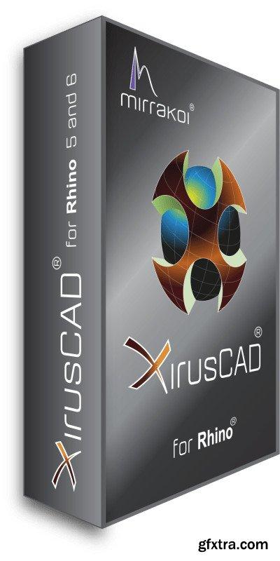 XirusCAD 1.0.4.4 (x64) for Rhino 7