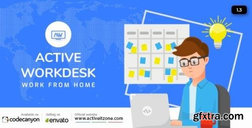 CodeCanyon - Active Workdesk CMS v1.3 - 28065052 - NULLED