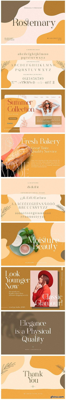 CM - Rostemary Elegant Serif 5149388