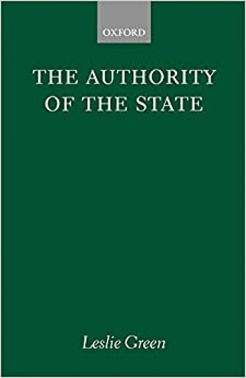 The Authority of the State (Clarendon Paperbacks)