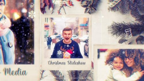Videohive - Christmas Photo Frame // Parallax Slideshow