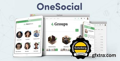 BuddyBoss - OneSocial v1.5.3 - Responsive WordPress BuddyPress Theme