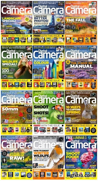 Digital Camera World - 2020 Full Year Collection Issues