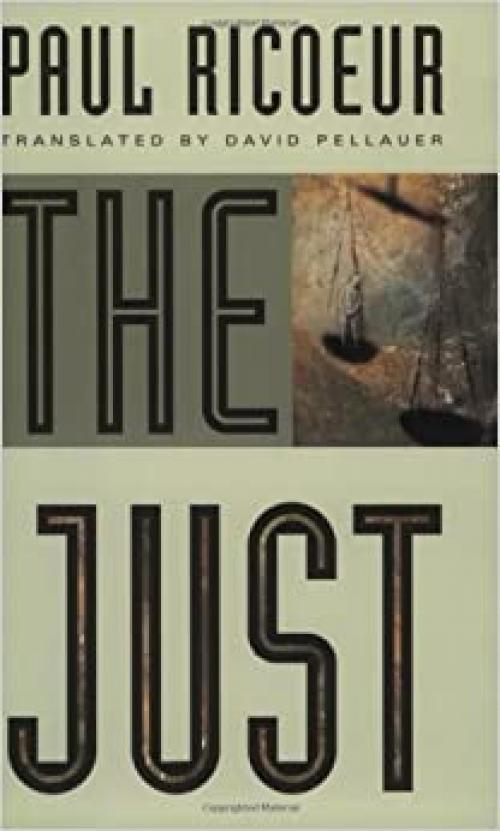 The Just (Chicago Series in Law and Society (Paperback))