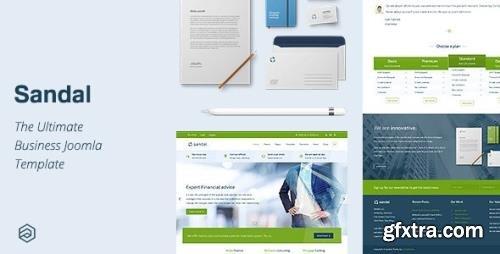 ThemeForest - Sandal v2.4.2 - Ultimate Responsive Business Joomla Template - 15254026