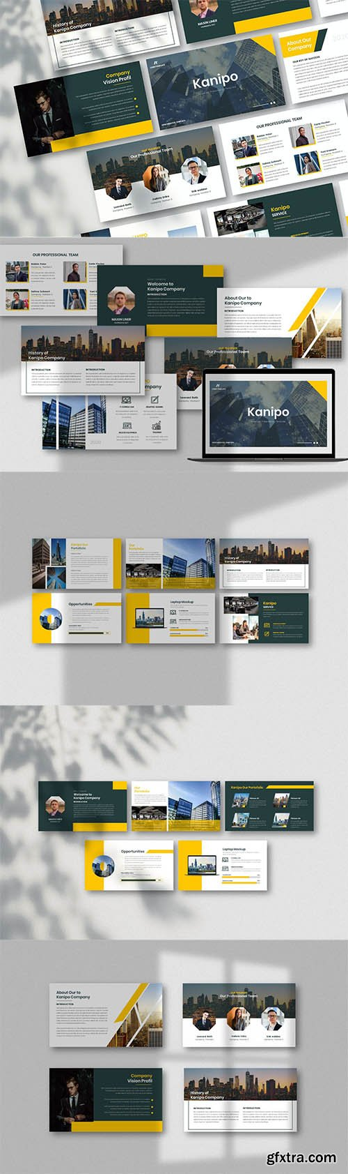 Kanipo-Business Powerpoint, Keynote and Google Slides Template