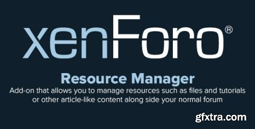 XenForo Resource Manager v2.2.1 - XenForo 2.x Add-On