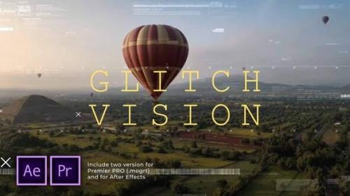 Videohive - Glitch Vision Slideshow