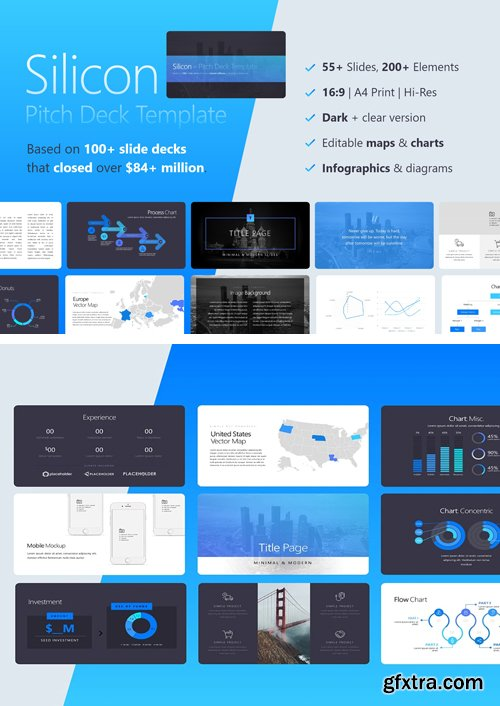 Silicon Investor Pitch Deck PPTX Template