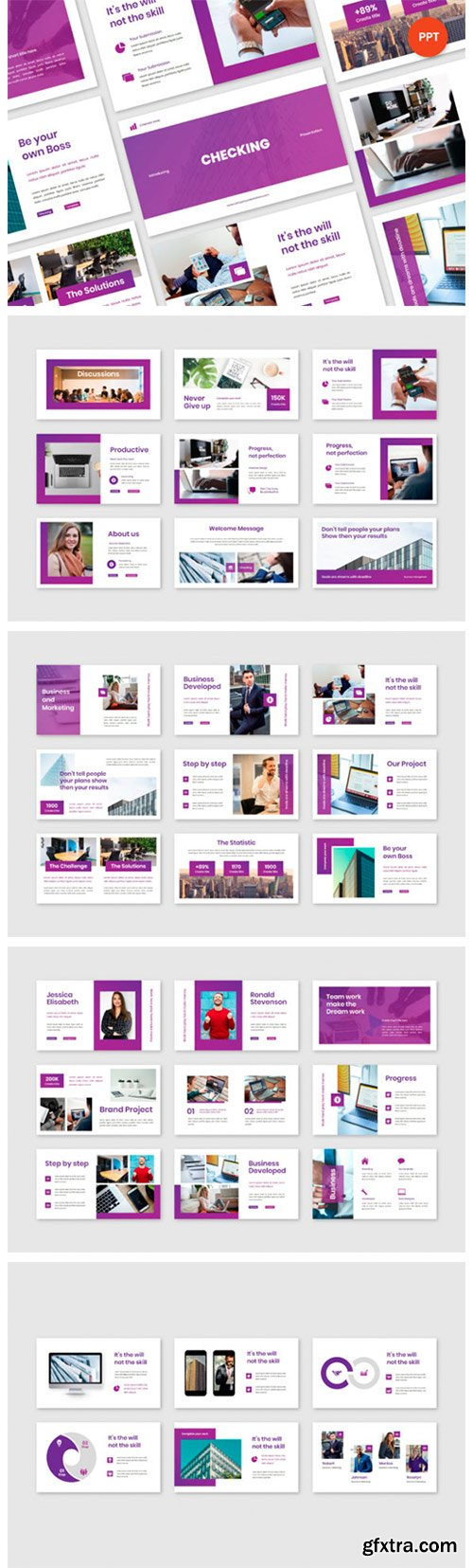 Checking Business Plan Powerpoint 6774203
