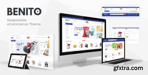 ThemeForest - Benito v1.0 - Mega Store Responsive Prestashop Theme - 29677406