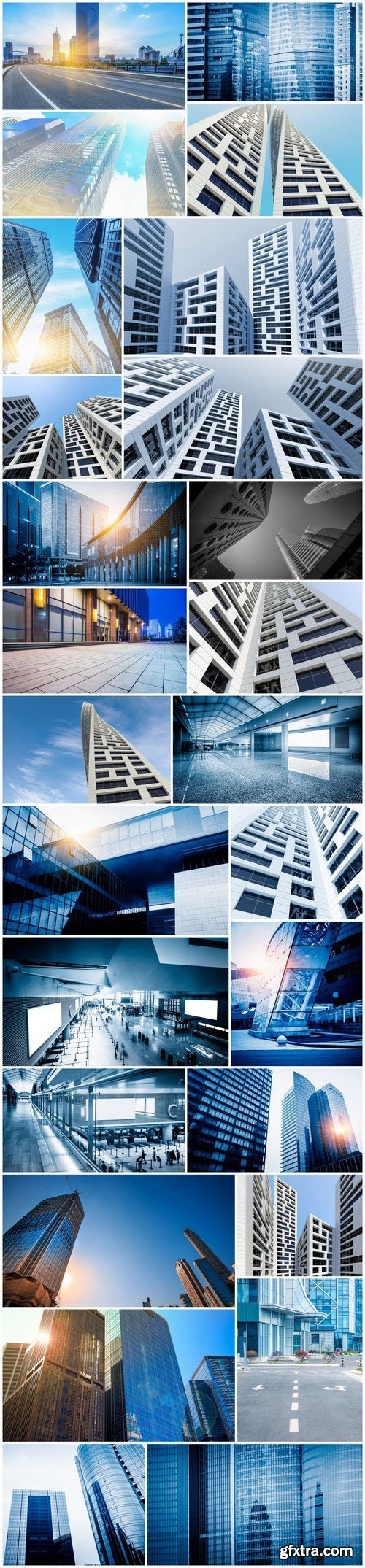 Modern Architecture 6 - Set of 26xUHQ JPEG Professional Stock Images