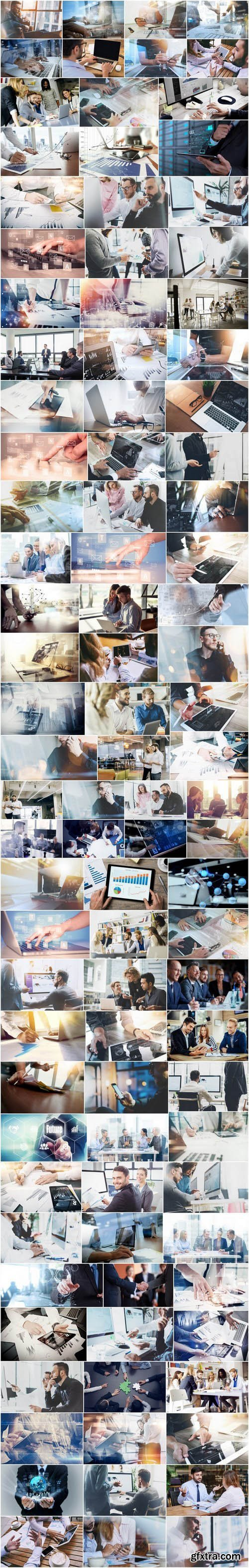 Business team, StartUp and Corporation - 100xUHQ JPEG Professional Stock Images