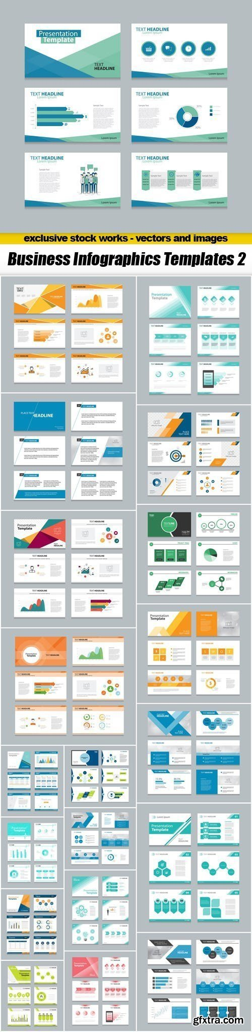 Business Infographics Templates 2 - 20xEPS