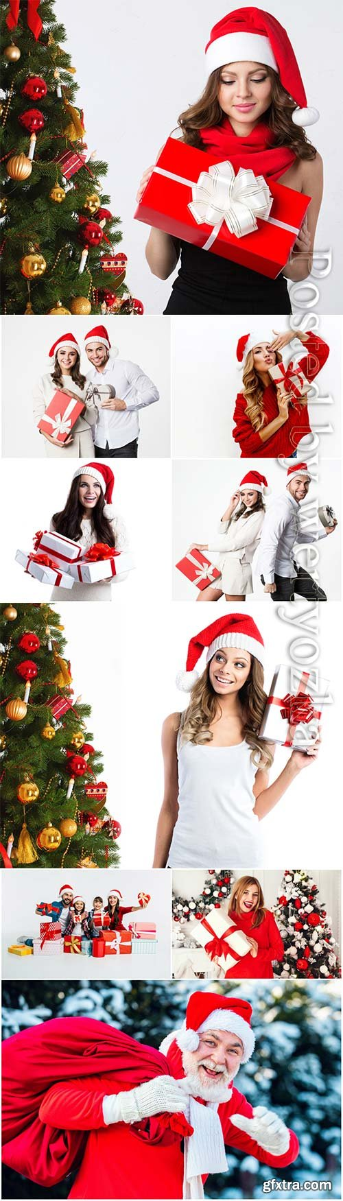 Christmas and New Year stock photo collection