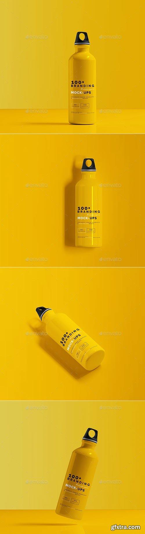 GraphicRiver - Aluminum Water Bottle Mockup - 29499327