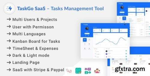 CodeCanyon - TaskGo SaaS v2.1.0 - Tasks Management Tool - 27761230 - NULLED