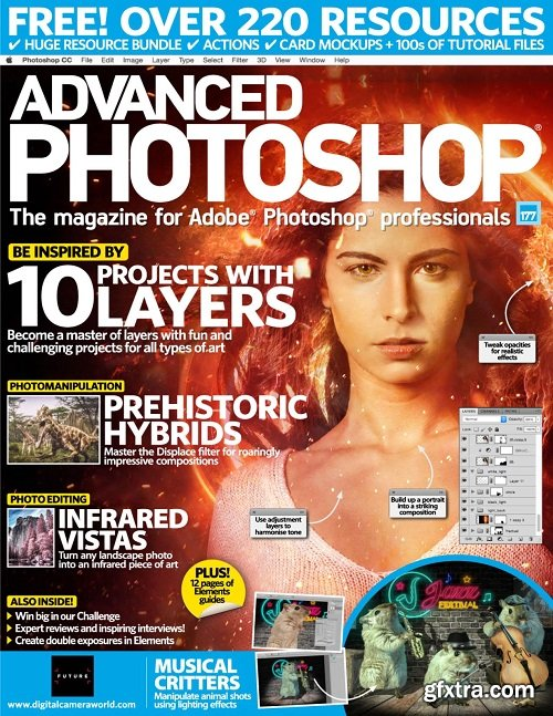 Advanced Photoshop - Issue 177, 2018