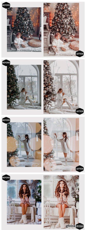 10 Glamour Xmas Photoshop Actions 7100521