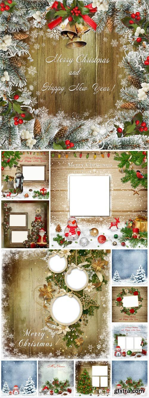 New Year and Christmas stock photos №35