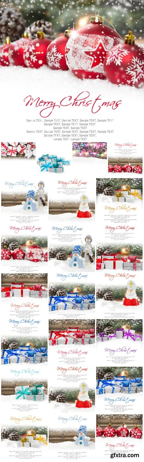 New Year and Christmas stock photos №15